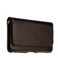 Чехол-кобура (внут. маг.) кожаный Valenta (C-918 5XL) Belt Arezzo Cases (160x85x8mm) с двойным креплением на ремень коричневый