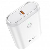Аккумулятор внешний универсальный Hoco Q3 10000 mAh Mayflower PD+QC3.0 power bank (USB:5V-3.0A Max) 20W Белый