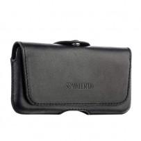 Чехол-кобура (внут. маг.) кожаный Valenta (С-918) Durban для iPhone SE/ 5S/ 5 с двойным креплением на ремень черный