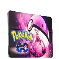 Чехол-книжка кожаный Birscon для iPad Air 2 Fashion series с рисунком UV-print (Pokemon GO) тип 02