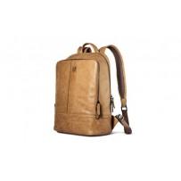 Рюкзак кожаный i-Carer 360x260x150mm Real Leather Backpack (IB005-80638br) Коричневый