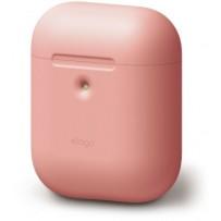 Чехол Elago для AirPods 2 wireless Silicone case Peach