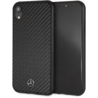 Чехол Mercedes-benz для iPhone XR Dynamic PU leather Hard Black