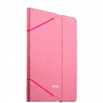 Чехол iBacks iFling VV Structure Leather Case for iPad Air2 - Fish-scale Series (ip60102) Pink Розовый