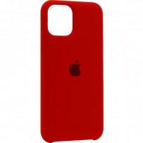 """Чехол-накладка силиконовый Silicone Case для iPhone 11 Pro (5.8"""") Product red Красный №14"""