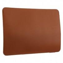 """Защитный чехол-конверт COTEetCI Leather (MB1019-BR) PU Ultea-thin Case для Apple MacBook New Pro 15"""" Коричневый"""