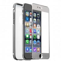 Чехол&стекло iBacks Ares Series Protection Suit для iPhone 6s Plus (5.5) - Conqueror (ip60162) Space Gray Серый
