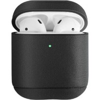 Чехол Uniq для Airpods Terra (2019) Genuine Leather Black