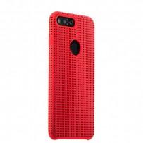 Чехол-накладка силиконовый COTEetCI Vogue Silicone Case для iPhone 7 Plus (5.5) CS7025-RD-BK Красный/ Черный