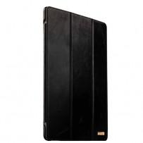 """Чехол кожаный i-Carer для iPad Pro (12,9"""") Vintage Series (RID701bl) Черный"""