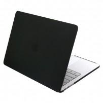 """Защитный чехол-накладка HardShell Case для Apple MacBook New Pro 16"""" Touch Bar (2019г.) A2141 матовая черная"""