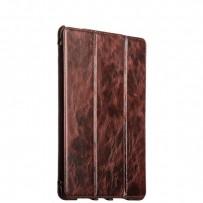 "Чехол кожаный i-Carer для iPad Pro (9.7"") Oil Wax Vintage Genuine Leather Folio Case (RID705coffe) Коричневый"