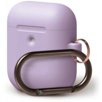 Чехол Elago для AirPods 2 wireless Silicone Hang case Lavender