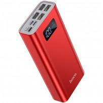 Аккумулятор внешний универсальный Hoco J46A 20000 mAh Star ocean mobile power bank (4USB:5V-2.0A Max) Красный