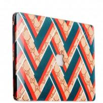 Защитный чехол-накладка BTA-Workshop для Apple MacBook Air 11 вид 12 (геометрический орнамент)