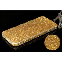 "Защитная, противоскользящая пленка ""Magic sticker"" для iPhone 5/5s, золото"