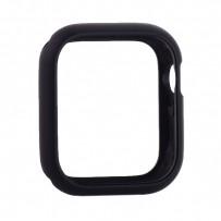 Чехол алюминиевый бампер COTEetCI магнитная рамка для Apple Watch Series 4/5 (CS7058-BK) 44мм Черный