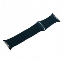 Ремешок кожаный COTEetCI W7 Leather Magnet Band (WH5205-GR) для Apple Watch 40мм/ 38мм Зеленый