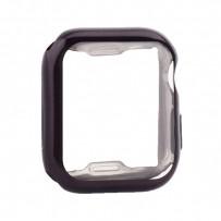 Чехол силиконовый TPU&защита экрана 360° COTEetCI для Apple Watch Series 4/5 (CS7059-BK) 40мм Черный