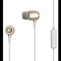 Наушники Motorola Earbuds Metal Gold 3.5mm