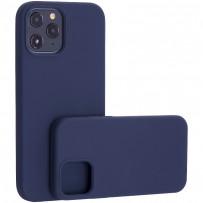 "Чехол-накладка силиконовый TOTU Outstanding Series Silicone Case для iPhone 12 Pro Max 2020 (6.7"") Темно-синий"