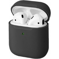 Чехол Uniq для Airpods LINO (2019) Liquid silicone Grey