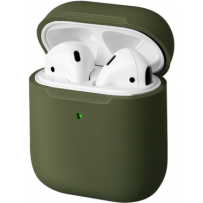 Чехол Uniq для Airpods LINO (2019) Liquid silicone Green