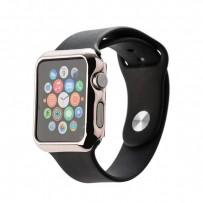 Чехол пластиковый COTEetCI Soft case для Apple Watch Series 2 (CS7031-MRG) 42мм Розовое золото