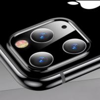 """Стекло защитное TOTU для основной камеры iPhone 11 Pro (5.8"""")/ 11 Pro MAX (6.5"""") ABiP-036 Черное"""