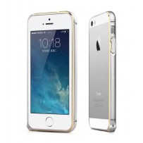 "Бампер алюминиевый для iPhone 5/5S, ""Silver""."