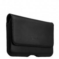 Чехол-кобура (внут. маг.) кожаный Valenta (C-918 5XL) Belt Arezzo Cases (160x85x8mm) на ремень черный