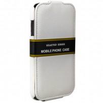 Чехол Exakted для iPhone 6s/ 6 (4.7) с откидным верхом Белый в техпаке