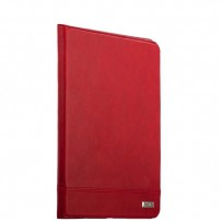 Чехол кожаный XOOMZ для iPad Air 2 Genuine leather Case Magnetic Closure and Stand (XID604red) Красный