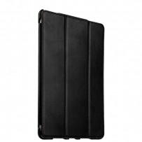 """Чехол кожаный i-Carer для iPad Pro (9.7"""") Vintage Series (RID704bl) Черный"""