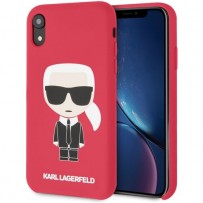 Чехол Karl Lagerfeld для iPhone XR (KLHCI61SLFKRE)