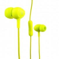 Наушники Hoco M3 Universal Earphone (1.2 м) с микрофоном Зеленые