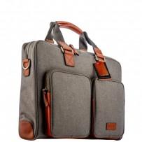 """Кейс для ноутбука до 15"""" i-Carer 420x300x132mm Business Handbag Briefcase Shoulder (RDN-02-B1) оранжево-серый"""