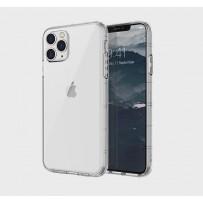 Чехол Uniq для iPhone 11 Pro Air Fender Transparent (противоударный уплотнённый силикон, кристально-прозрачный)
