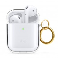 Чехол Elago для AirPods Gen 1 & 2 Clear Hang case Transparent