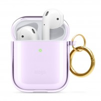 Чехол Elago для AirPods Gen 1 & 2 Clear Hang case Lavender