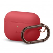 Чехол Elago для AirPods Pro Silicone Hang case Red