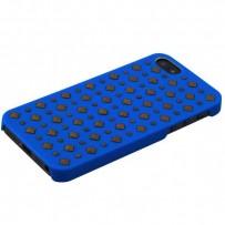 Накладка пластиковая Puro Rock 2 для iPhone 5S/ 5 IPC5ROCK2BLUE - Синяя