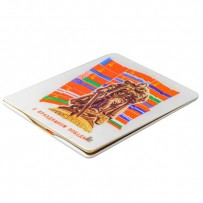 Чехол-книжка кожаный Jisoncase Executive Print для iPad 4/ 3/ 2 JS-IPD-06 с рисунком (праздники) Победа 1945 тип 003