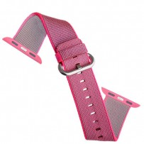 Ремешок COTEetCI W11 NYLON BAND (WH5215-PK-42) для Apple Watch 44мм/ 42мм Pink - Розовый
