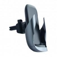 Автомобильное беспроводное Qi зарядное устройство ROCK W23 ABW001 Wireless Charger Air Vent Car Mount (5V-9V/2A) Черный