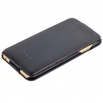 Чехол Fashion Case для iPhone 6s/ 6 (4.7) кожаный с откидным верхом черный
