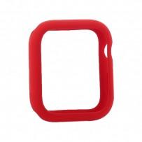Чехол силиконовый бампер COTEetCI Liquid Silicone Case для Apple Watch Series 4/5 (CS7067-RD) 40мм Красный