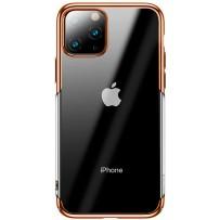 Baseus чехол для iPhone 11 Pro Max (WIAPIPH65S-DW0V), золотой кант