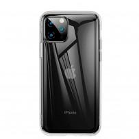Baseus чехол для iPhone 11 Pro Max (ARAPIPH65S-SF02), прозрачный, противоударный