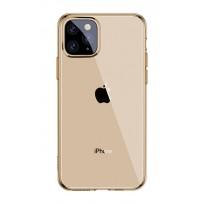 Baseus чехол для iPhone 11 Pro Max (ARAPIPH65S-0V) золотой, прозрачный
